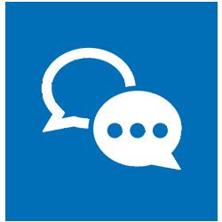 kommunikations ikon